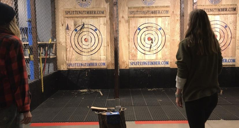 Axe Throwing Is Easier Than Anticipated