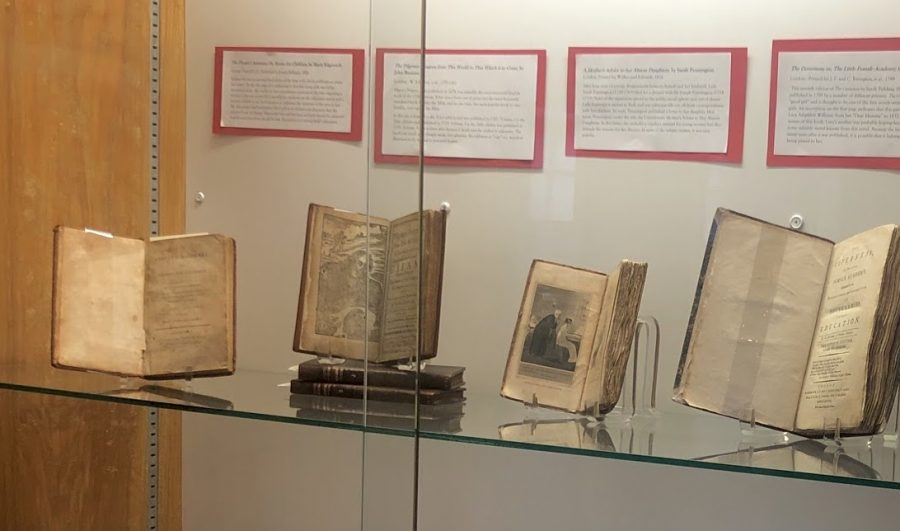 English Students Design Exhibit Of Rare Books