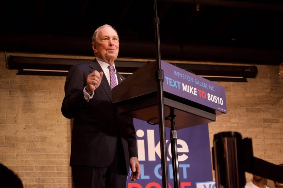 Bloomberg Campaigns In Winston-Salem
