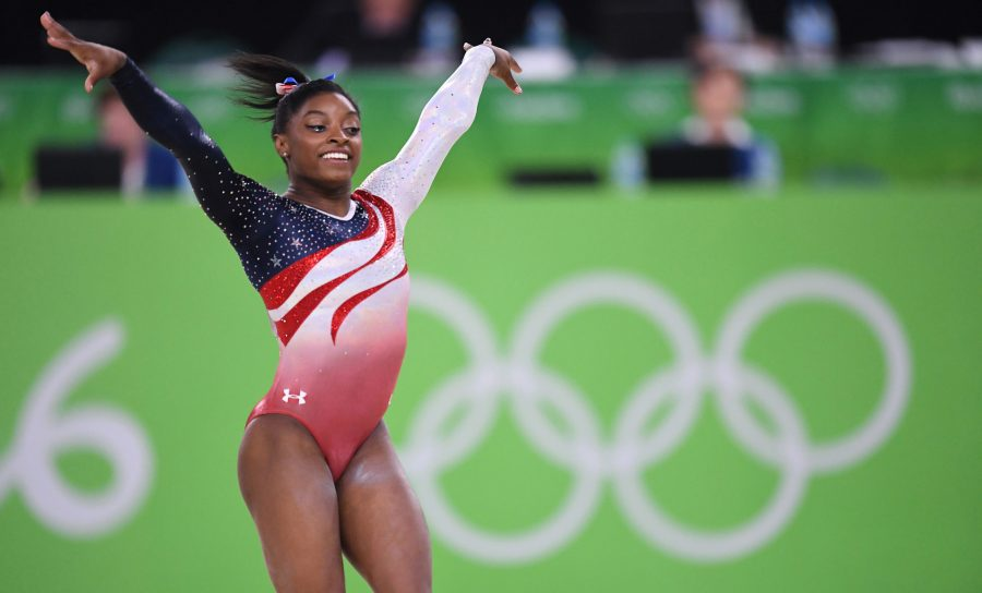 Olympic champion Simone Biles has not directly addressed her brother's arrest on social media. (Mark Reis/Colorado Springs Gazette/TNS)
