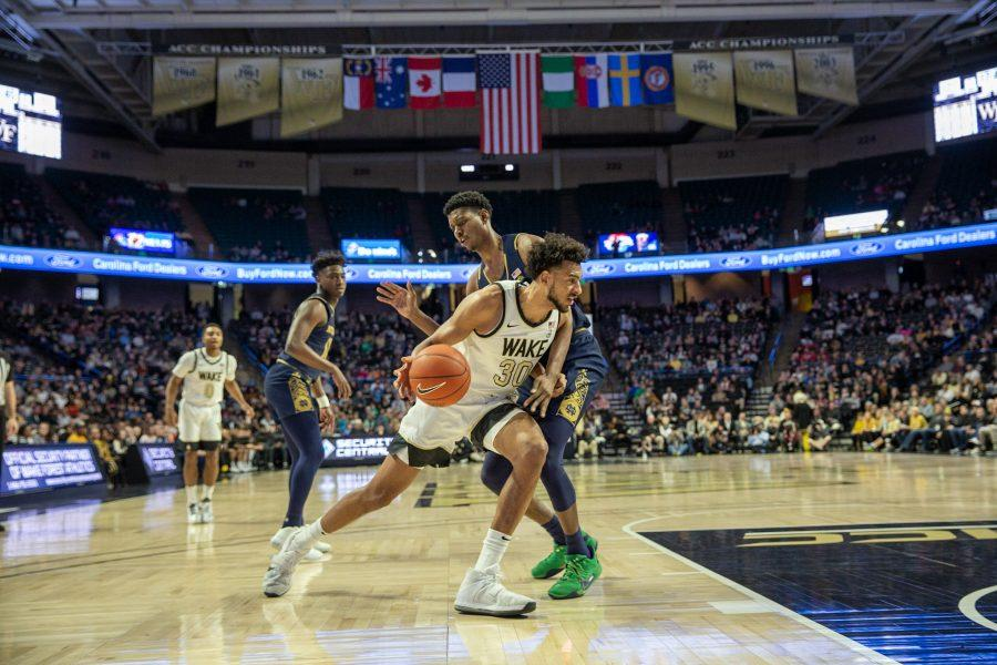 Deacs Secure Senior Night Win Over Notre Dame