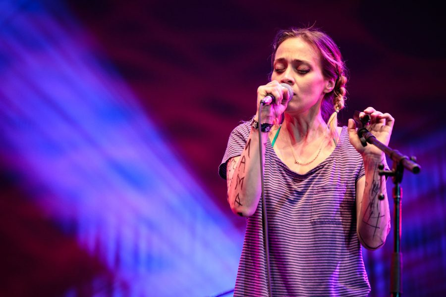 Fiona Apple at Damrosch Park Aug 8, 2015.