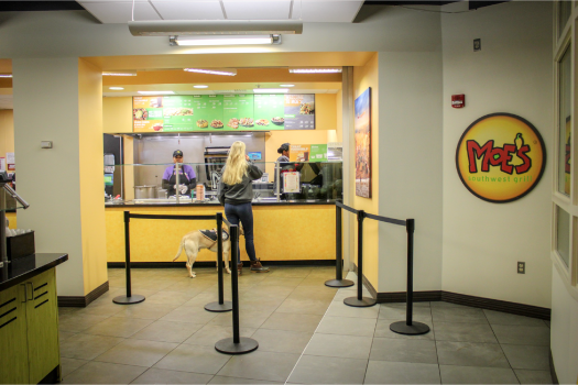 Temporary Grocery Store Serves Students on Campus