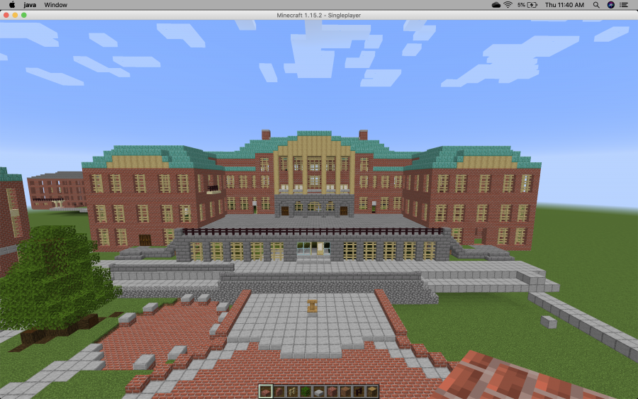 Student Creates Replica of Wake Forest Campus on Minecraft