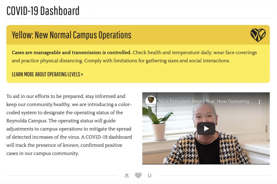 WFU+releases+COVID-19+dashboard
