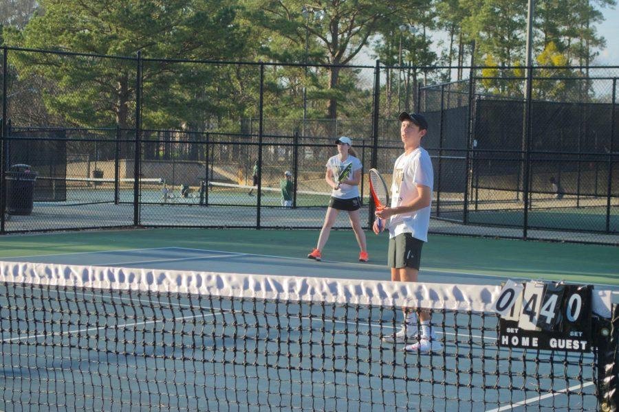 Wake Forest club tennis squad ready for action