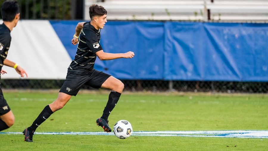 Sophomore+standout+Omar+Hernandez+scored+a+spectacular+goal+against+Duke+on+Friday%2C+helping+lead+the+Deacs+to+a+pivotal+victory+%28Photo+courtesy+of+%40WakeMSoccer%2FTwitter%29