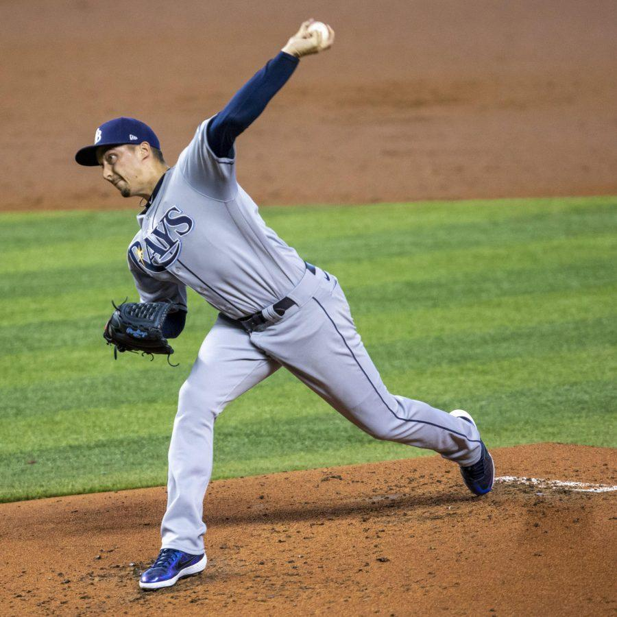 Pitcher Blake Snell has been crucial to Tampa Bay's success (Daniel A. Varela/Miami Herald/TNS)