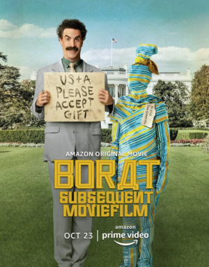 The second Borat film premiered on the Amazon Prime streaming platform on Oct. 23, 2020 (Photo courtesy of imdb.com)