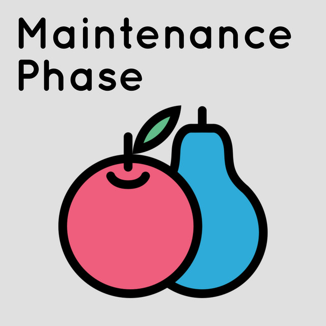 Maintenance Phase is hosted by Aubrey Gordon and Michael Hobbes (Photo courtesy of spotify.com)