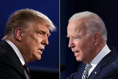 De izquierda a derecha, Donald Trump, candidato republicano a la reelección, y Joe Biden, candidato demócrata a la presidencia de EEUU. (JIM WATSON,SAUL LOEB/AFP via Getty Images/TNS)
