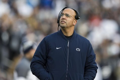 James Franklin and Penn State have yet to find the win column (Scott Taetsch/Getty Images/TNS)