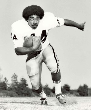 Larry Hopkins ('72) led Wake Forest to its first ever ACC Championship in 1971 (Photo courtesy of Wake Forest Sports Hall of Fame)