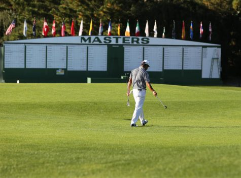 Golf fans may not be accustomed to golf at Augsuta National in November, but strange sights seem to be common-place in 2020 (Curtis Compton/Atlanta Journal-Constitution/TNS)