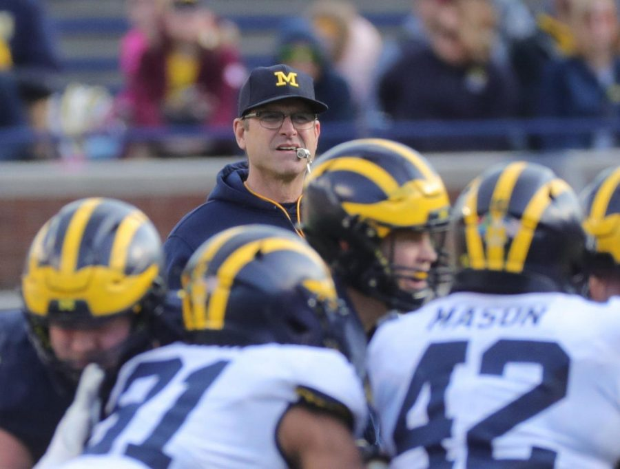 Jim+Harbaugh%E2%80%99s+Wolverines+lost+to+Michigan+State+on+Saturday+%28Kirthmon+F.+Dozier%2FDetroit+Free+Press%2FTNS%29