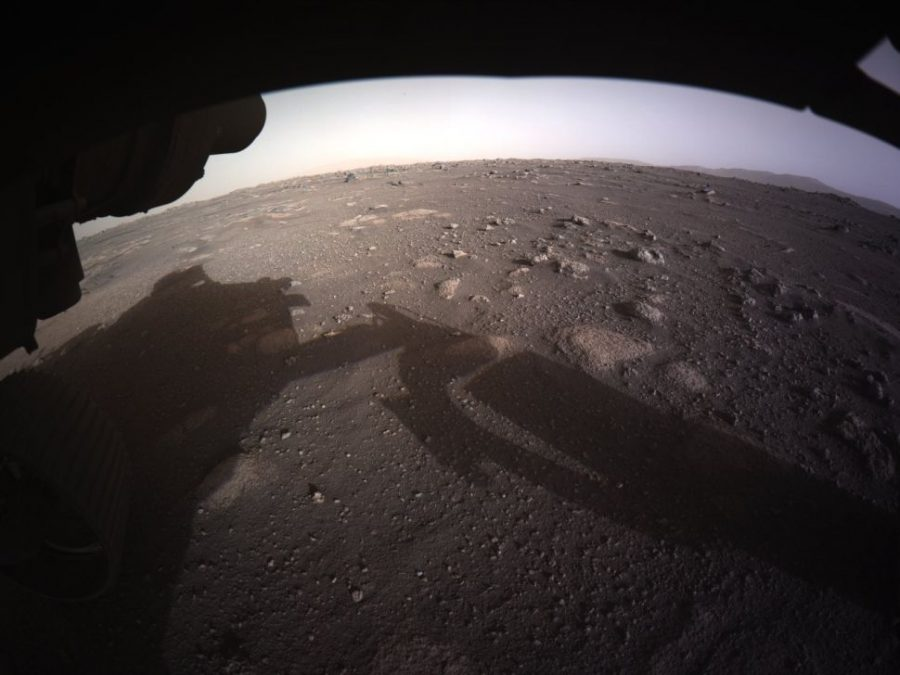 The+Perserverance+rover+landed+on+the+Jezero+Crater+Feb.+18.+It+will+explore+the+crater+for+evidence+of+ancient+life+and+provide+crucial+insight+into+the+prospects+for+human+life+on+Mars.++