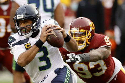 Russell Wilson speaks out on his lack of protection this season