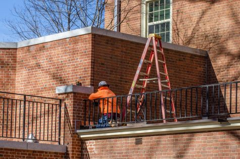 Facilities crews finish campus-wide construction