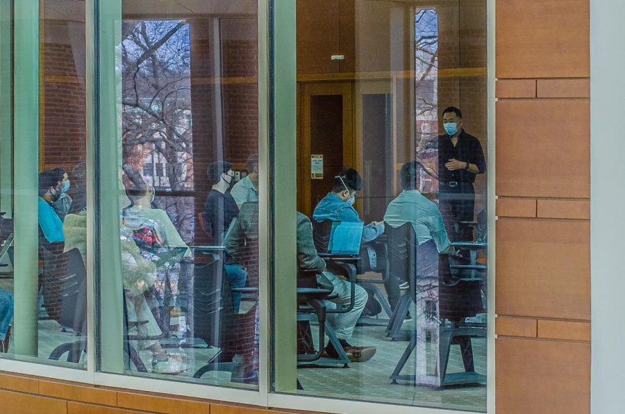 Students note that this year's on-campus COVID-19 restrictions are causing strains on both their mental health and social life.