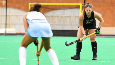 Maxwell has scored four goals this season, two against Boston College, one against Duke and one in Wake Forest's most recent game against the University of Virginia.