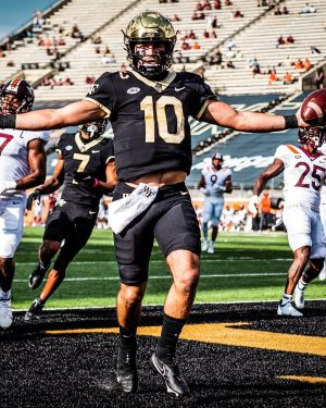 Hartman threw for 2,224 yards and 13 touchdowns in his redshirt sophomore season.