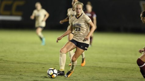 Hannah Betfort, who first started playing soccer at Wake Forest as a walk-on, was drafted to the NWSL's Portland Thorns FC in January.