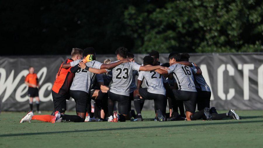 Wake Forest men's soccer kicks off its regular season games on Aug. 26 against Virginia Commonwealth University at Spry Stadium.