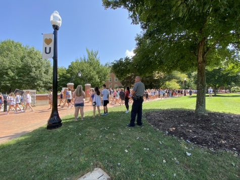Wake Forest leaves students to fend for themselves