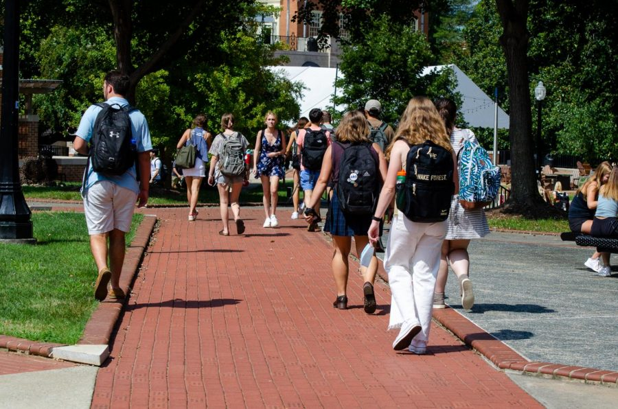 Campus was fully alive during this years FDOC, students lining the sidewalks, academic buildings full to the brim and students and professors alike enjoying that long-awaited company.