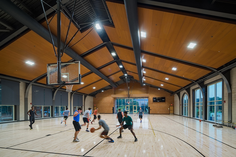 Basketball courts must be opened to vaccinated students