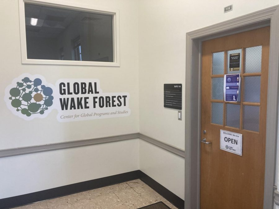 Wake Forest's Center for Global Programs and Studies has been working with students navigating the transition back to the U.S.