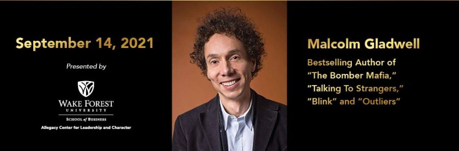 Malcolm Gladwell to visit WFU
