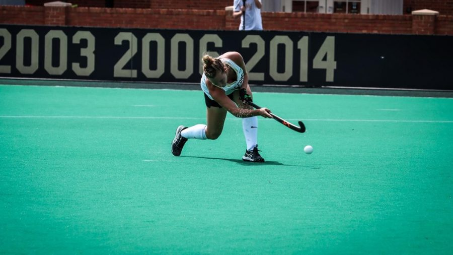 Field hockey had a perfect weekend, finishing with a 3-2 win over UMass.
