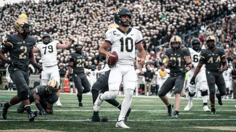 Redshirt sophomore quarterback Sam Hartman had a career day for the Demon Deacons, completing 23 passes for 458 yards and five touchdowns.