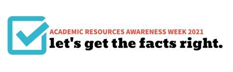 Academic Resources Awareness Week to be held Nov. 1-5