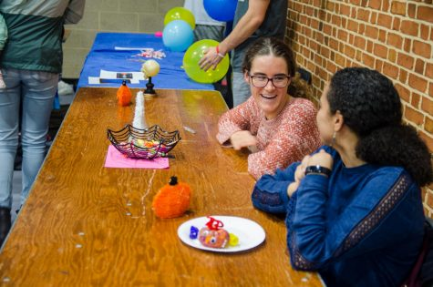 Wake Forest students welcome children from the wider Winston-Salem community to campus in 2019 for Project Pumpkin. This year, due to COVID-19, Wake Forest will hold Project Pumpkin off-campus.