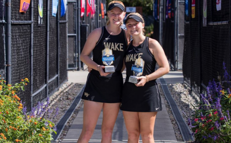 Brylin and Killingsworth defeated Old Dominion in the final match in three sets.