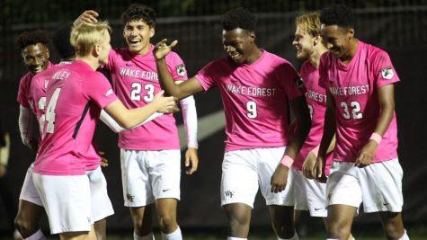 Wake Forest mens soccer upsets Virginia Tech