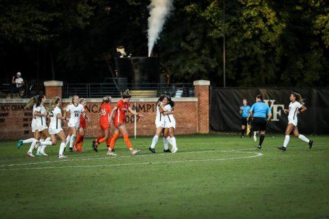Women's soccer stuns No. 17 Virginia Tech