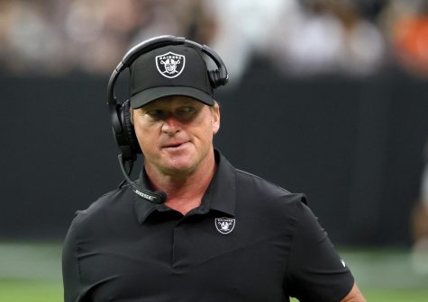 Raiders head coach Gruden steps down