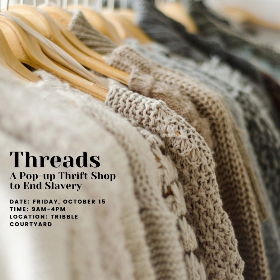 Wake Forest's chapter of the International Justice Mission hopes their thrift shop will help fund missions to end slavery.